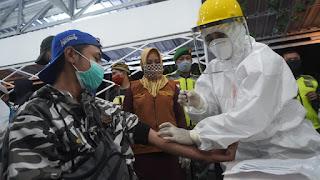 Deteksi Penyebaran Corona, Walikota Gelar Rapid Test Pengunjung Warkop
