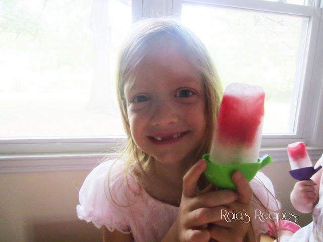Watermelon Kefir Popsicles by Raia's Recipes