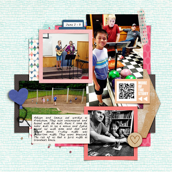 Project Scrapbook Page