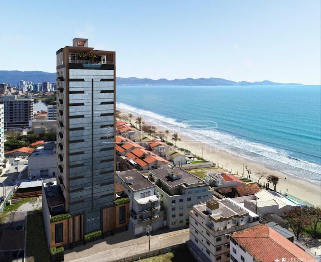 Porto Santo Residence - Apartamento 3 suítes na praia em Porto Belo - Santa catarina