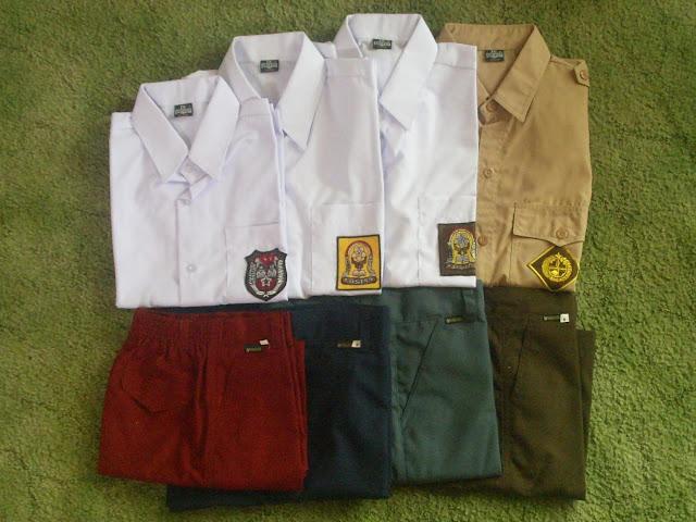 Baju Seragam Sekolah Tanah Abang Lengkap Murah