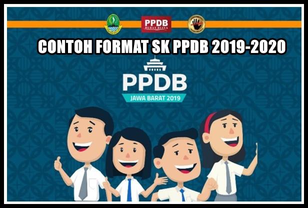 Sekolah Harus Punya Contoh Format SK PPDB 2019-2020