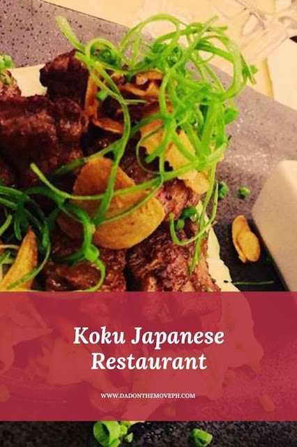Koku Japanese Restaurant review