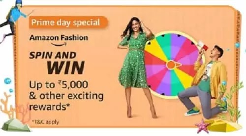 Which of the following is true for Amazon Fashion during Prime Day (26th - 27th July)?