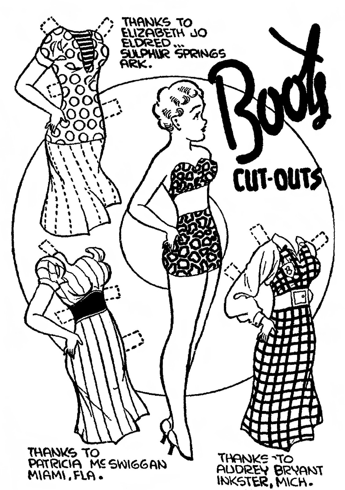Mostly Paper Dolls: July 2012
