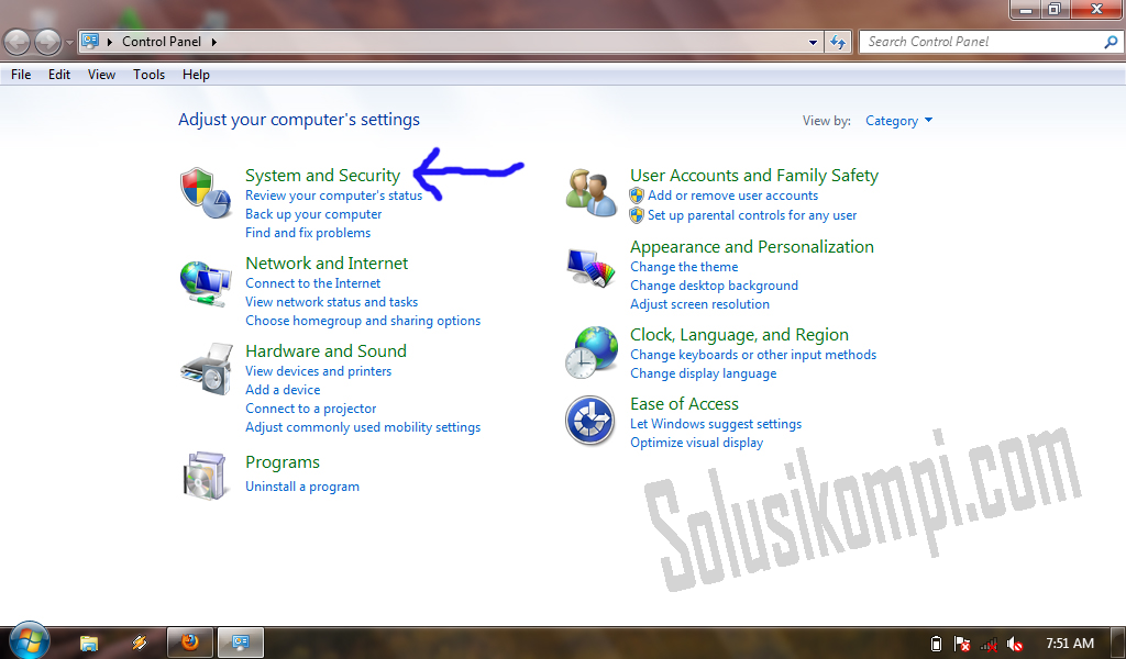 Cara Mudah menonaktifkan windows update