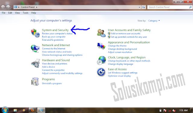 nonaktifkan windows update