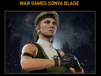 War Games Sonya Blade Mortal Kombat 11 MK11