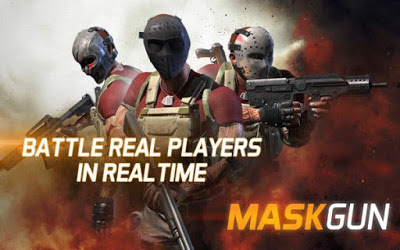 MaskGun Apk v1.031 Mod Terbaru (High Damage/Ammo/No Reload)