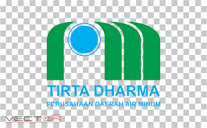 PDAM (Perusahaan Daerah Air Minum) Logo (.PNG)