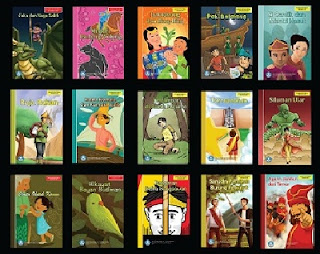 Daftar Buku Bahan Bacaan Literasi Pilihan Cerita Rakyat dari 34 Provinsi di Seluruh Indonesia