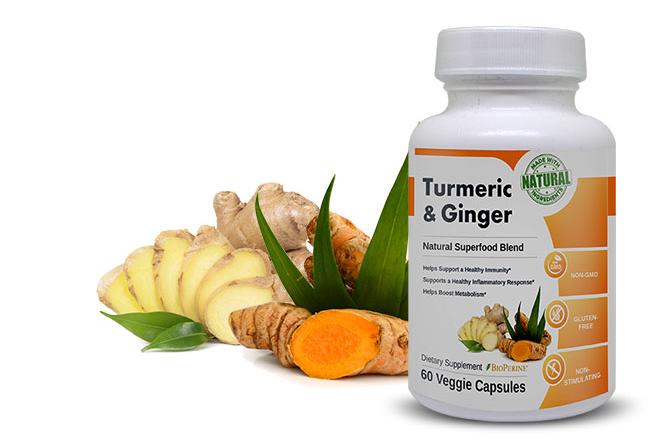 Tumeric & Ginger - Dietary Supplement