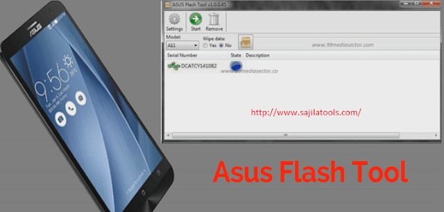 Asus Flash Tool Latest V1.0.0.45  For Windows