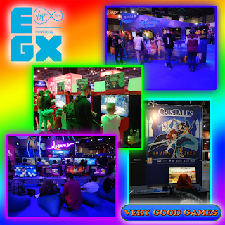 A photo report with some Very Good Games from EGX 2019 in London