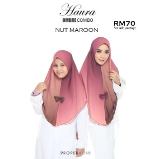 COMBO TUDUNG OMBRE SET IBU DAN ANAK  SOLD OUT
