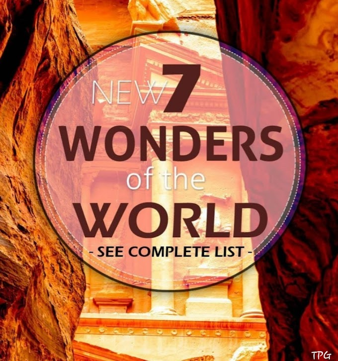 Know about 7 Wonders of The World