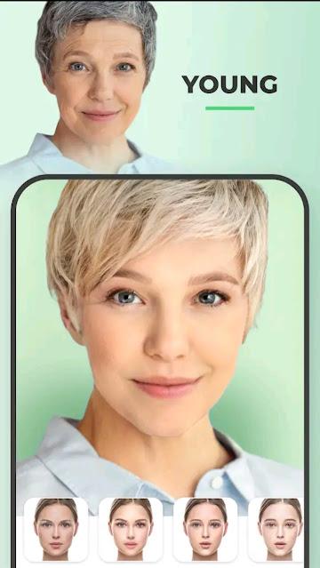 FaceApp Face Changer App - Face Editor, Makeover & Beauty App