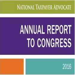 National Taxpayer Advocate Reviews 2016 Filing Season