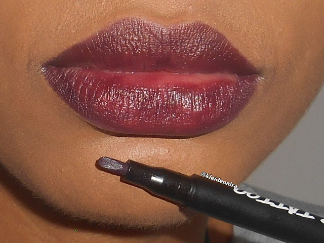 Lip Tattoo da Avon Mark - Resenha