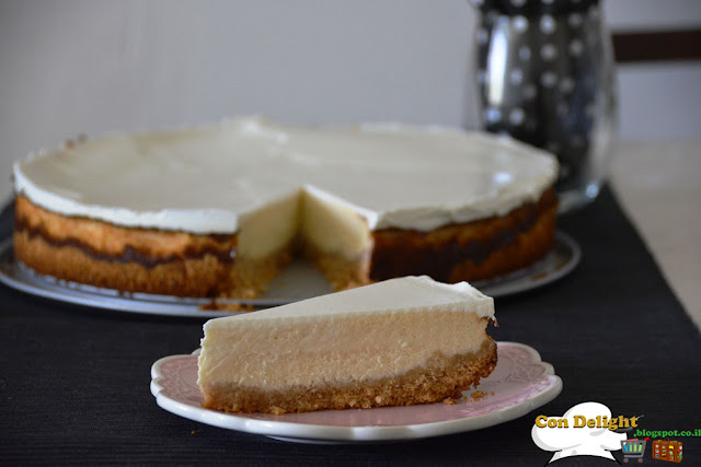 Mouthwatering cheesecake