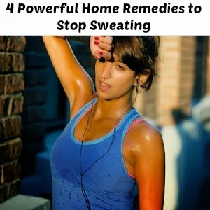 Powerful Home Remedies to Stop Sweating