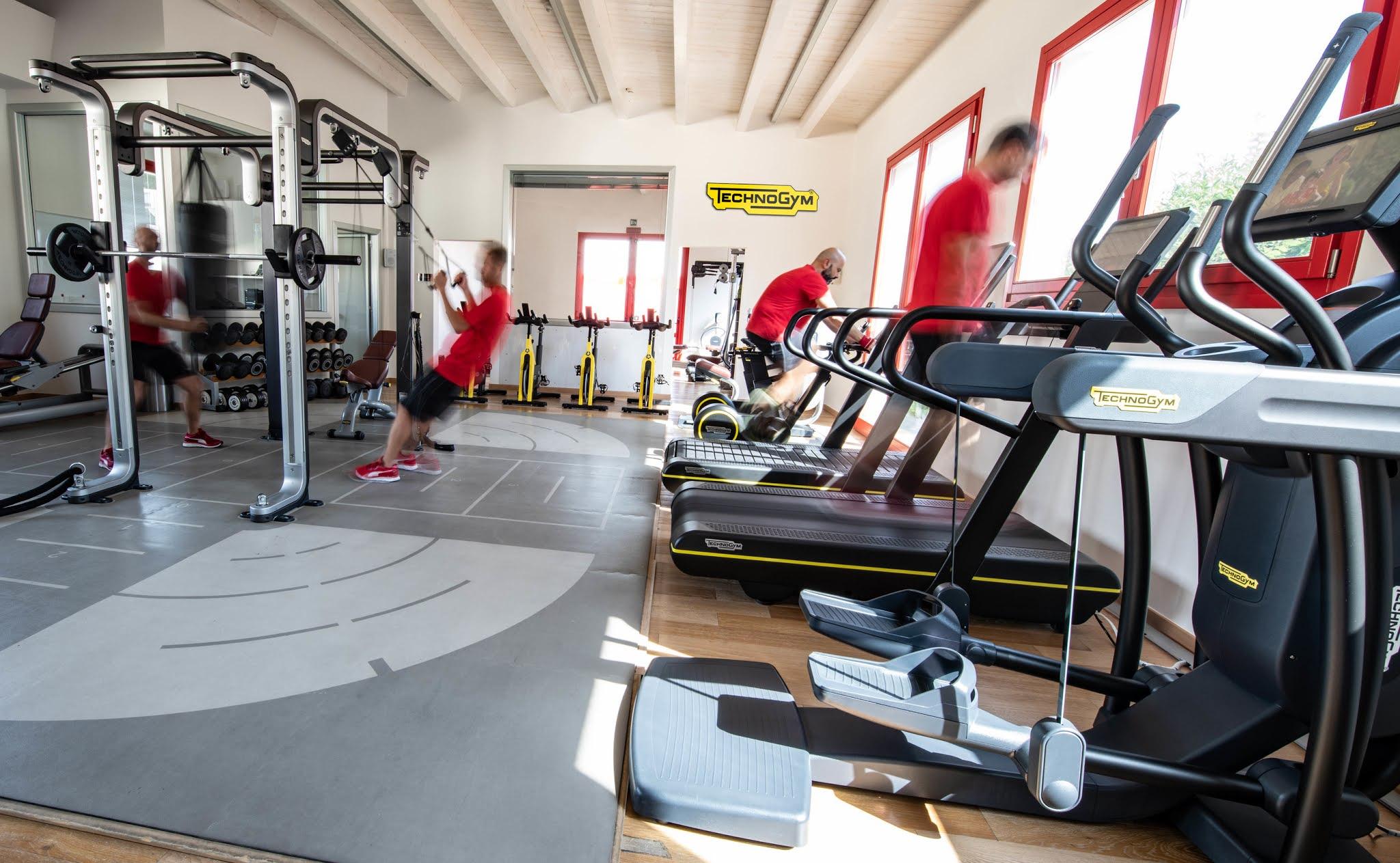 Scuderia Ferrari stays fit with Technogym