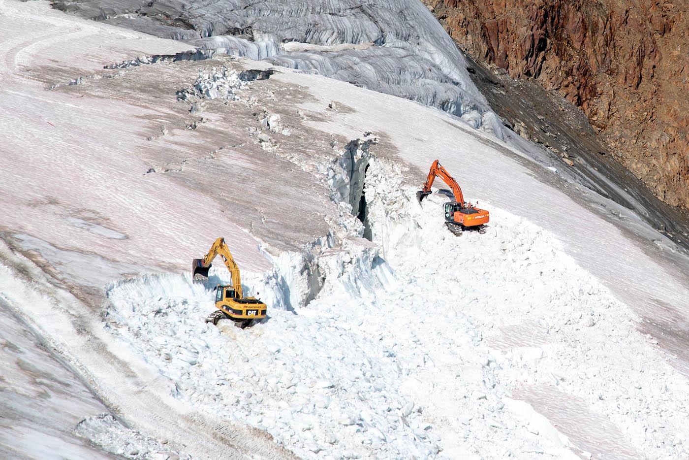 Bagrovanie ľadovca