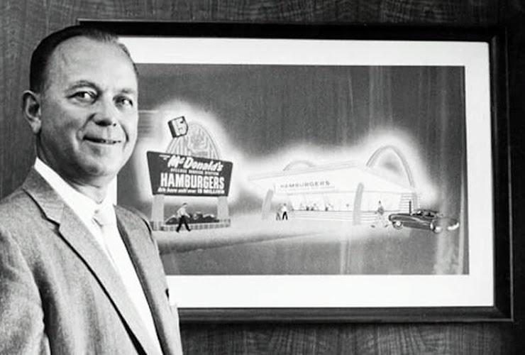 Ray Kroc compra McDonald's