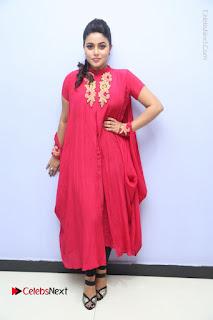 Actress Poorna Latest Stills in Red Dress at Rakshasi First Look Launch  0363.JPG