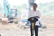 Presiden Jokowi Groundbreaking Pembangunan Pabrik Baterai Kendaraan Listrik
