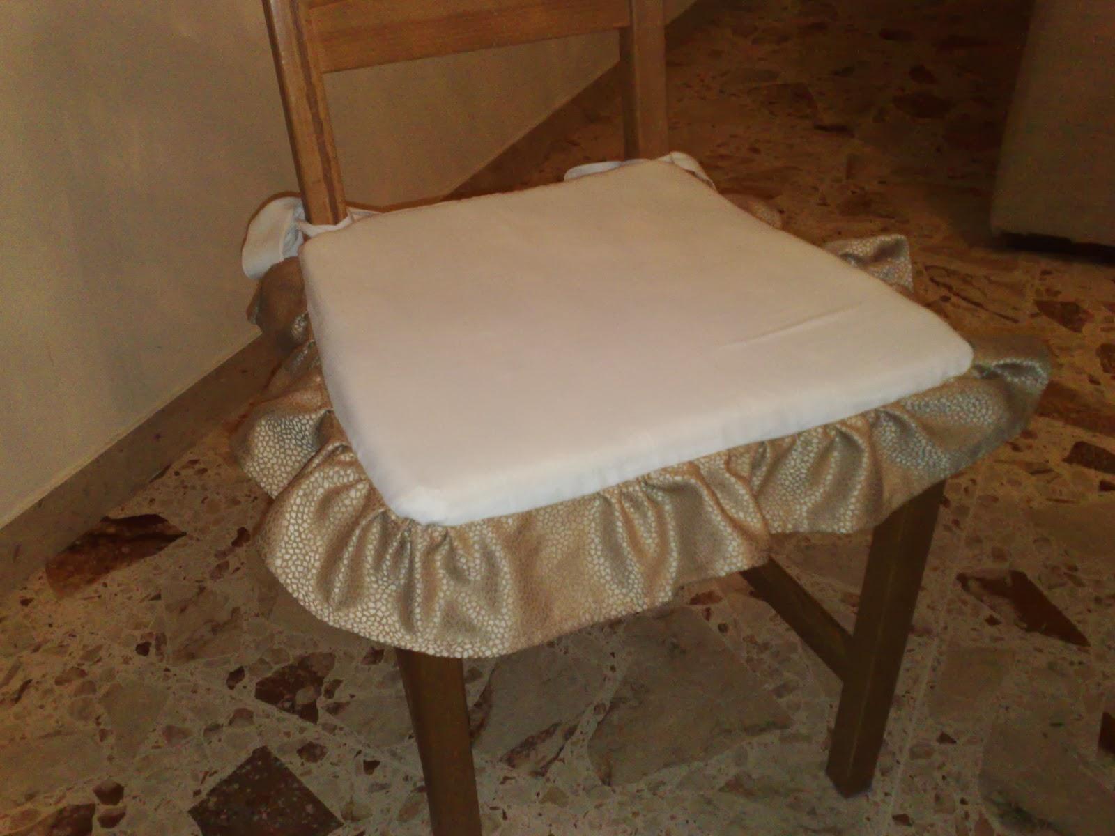 Cuscini sedie soggiorno for Cuscini per sedie cucina provenzali