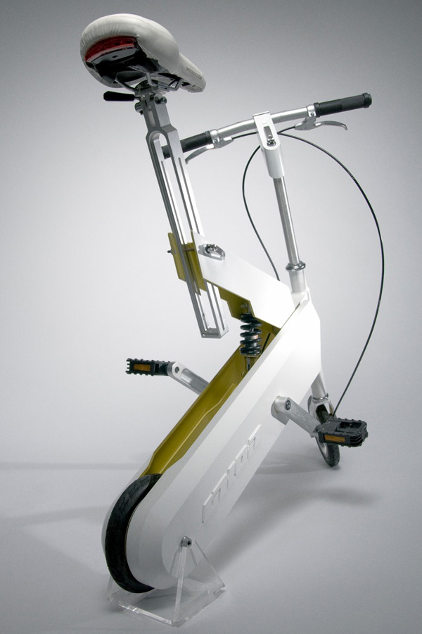 compact folding bicycle