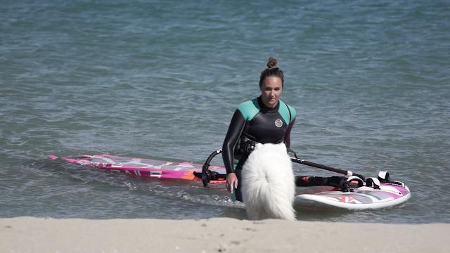 Oceane Gilles au Rouet / Windsurf