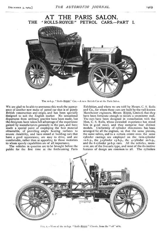 Rolls-Royce 10 hp Type A review - 1