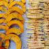 Acompanhamentos de Outono - Palitos de Batata Doce e Tiras de Abóbora no Forno