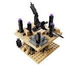 Minecraft The End Micro World Set