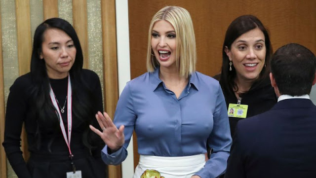 Ivanka Trump Uses 'Jedi Mind Trick' to Distract from Impeachment Talk