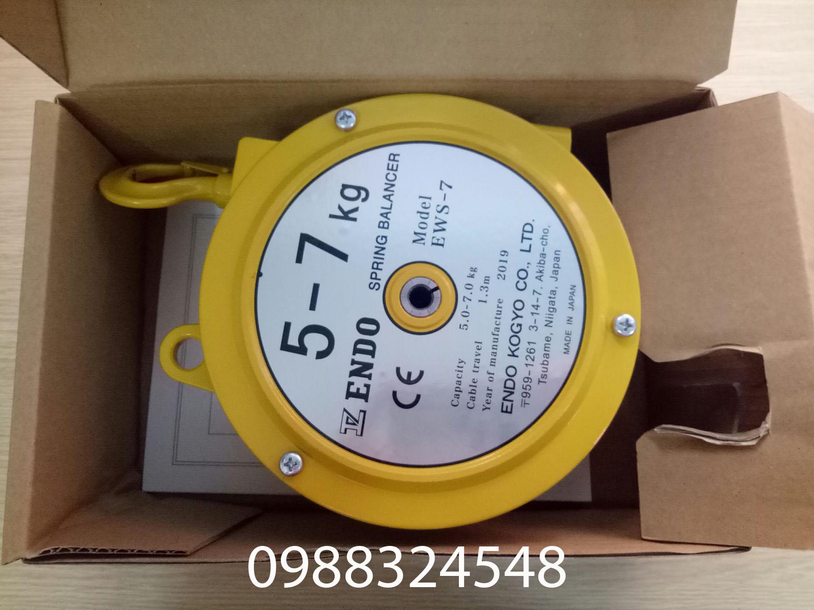 Pa lăng cân bằng Endo EWS-7, tải trọng: 5-7kg