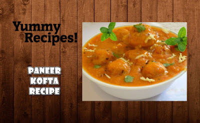 Paneer Kofta Curry Recipe - How to Make Paneer Kofta Curry