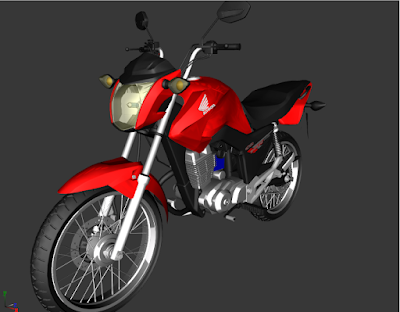 GTA - SA HONDA CG FAN 150 1