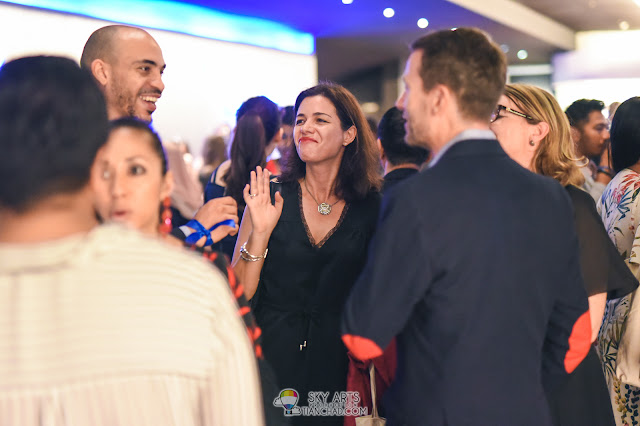 Le French Film Festival 2018 Launching at GSC Pavilion KL, Malaysia - Happy crowd
