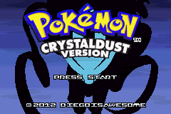 Pokemon CrystalDust GBA Latest Free Download