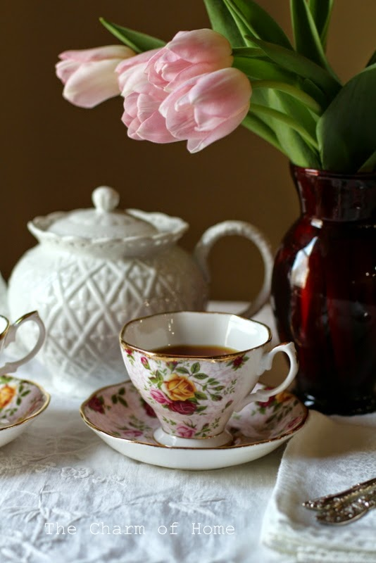 Pink Tulip Tea: The Charm of Home