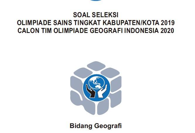 Soal dan Jawaban OSN Geografi 2019 Tingkat Kabupaten