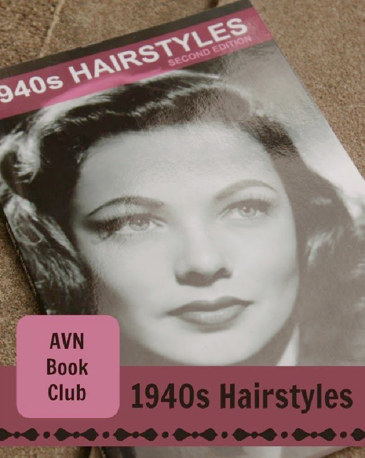 A Vintage Nerd, Vintage Blog, Vintage Beauty, 1940's Hairstyles, 1940's Hairstyles Book