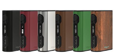 6 Colors Option For Eleaf iStick QC 200W