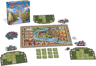 Componentes de Rajas of The Ganges the board game