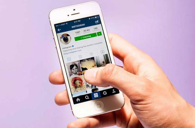 Cara upload poto ke Instagram tanpa membuka aplikasi melalu iPhone