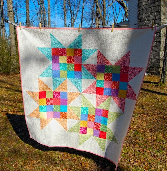 Sarah's Interlocking Stars Quilt
