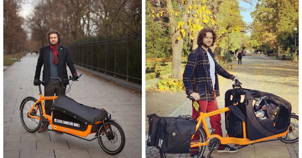 Od trzeciego tygodnia życia - Rok z dzieckiem na rowerze cargo